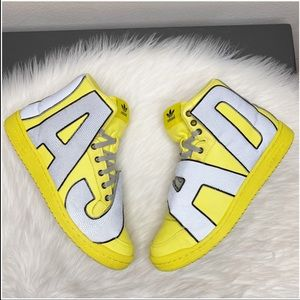 RARE Adidas X Jeremy Scott Spell-out Sneakers